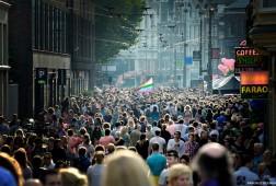 Gay Parade in Amsterdam