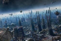 Future City night time