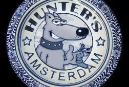 Delfts blauw Hunter's Amsterdam
